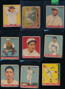 Pre-WWII Mixer Break (76 Cards) - Featuring '33 WWG Babe Ruth