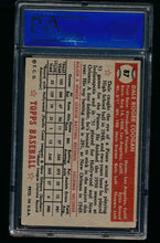 Load image into Gallery viewer, 1952 Topps  87 Dale Coogan  PSA 4 VG-EX 13192