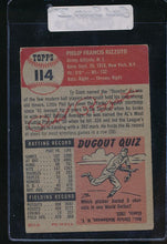 Load image into Gallery viewer, 1953 Topps  114 Phil Rizzuto HOF VG-EX 10246