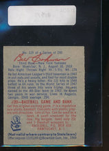 Load image into Gallery viewer, 1949 Bowman  129 Bill Johnson  EX 10404