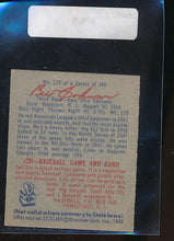 Load image into Gallery viewer, 1949 Bowman  129 Bill Johnson  EX 10407