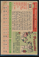 Load image into Gallery viewer, 1955 Topps  13 Fred Marsh  VG (ST) 10451