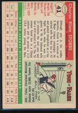 Load image into Gallery viewer, 1955 Topps  41 Chuck Stobbs  EX (MC) 10461