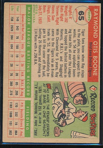 1955 Topps  65 Ray Boone  EX 10472