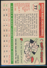 Load image into Gallery viewer, 1955 Topps  77 Arnie Portocarrero  G 10474