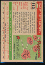Load image into Gallery viewer, 1955 Topps  113 Harry Brecheen CO VG 10492