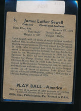 Load image into Gallery viewer, 1939 Play Ball  5 Luke Sewell  VG 10531