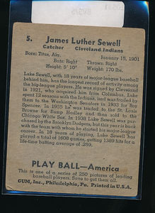 1939 Play Ball  5 Luke Sewell  VG 10531