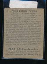 Load image into Gallery viewer, 1939 Play Ball  5 Luke Sewell  VG 10533