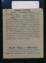 Load image into Gallery viewer, 1939 Play Ball  8 Henry Pippen  G 10540