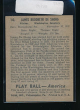 Load image into Gallery viewer, 1939 Play Ball  10 James DeShong  Trimmed 10547