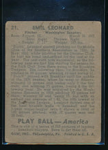 Load image into Gallery viewer, 1939 Play Ball  21 Dutch Leonard  Trimmed 10574