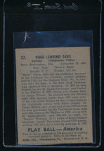 Load image into Gallery viewer, 1939 Play Ball  37 Virgil Davis  EX-MT 10621