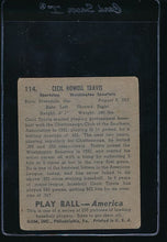 Load image into Gallery viewer, 1939 Play Ball  114 Cecil Travis  G 10666