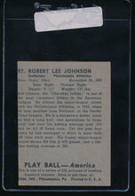 Load image into Gallery viewer, 1939 Play Ball  97 Bob Johnson  Trimmed 10700