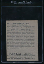 Load image into Gallery viewer, 1939 Play Ball  95 Whit Wyatt  Trimmed 10704