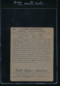 1939 Play Ball  84 Skeeter Newsom  G/VG 10728