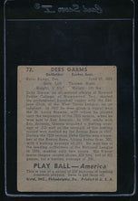 Load image into Gallery viewer, 1939 Play Ball  72 Debs Garms  VG 10753