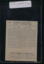 Load image into Gallery viewer, 1939 Play Ball  46 Morris Arnovich  VG (MK) 10800