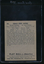 Load image into Gallery viewer, 1939 Play Ball  44 Don Heffner  Trimmed 10807