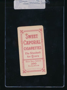 1909-1911 T206 Sweet Caporal 350 Factory 30  Oscar Stanage  VG 10880