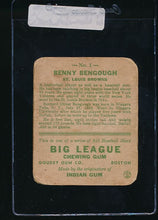 Load image into Gallery viewer, 1933 Goudey  1 Benny Bengough  P (MK) 10896