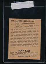 Load image into Gallery viewer, 1940 Play Ball  193 Chubby Dean RC   VG-EX (ST) 10979