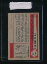 Load image into Gallery viewer, 1954 Bowman  13  Paul Minner  EX 11067