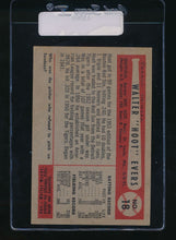 Load image into Gallery viewer, 1954 Bowman  18  Hoot Evers  VG-EX 11069