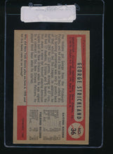 Load image into Gallery viewer, 1954 Bowman  36  George Strickland  EX-MT 11071