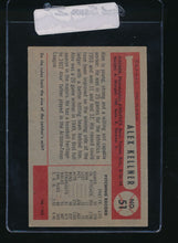 Load image into Gallery viewer, 1954 Bowman  51  Alex Kellner  VG 11074