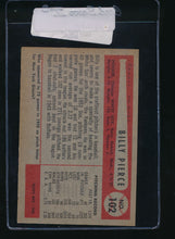 Load image into Gallery viewer, 1954 Bowman  102  Billy Pierce  EX 11089