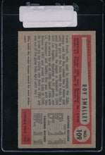 Load image into Gallery viewer, 1954 Bowman  109  Roy Smalley  EX 11090
