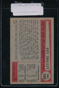 1954 Bowman  109  Roy Smalley  EX 11090