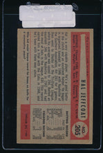 Load image into Gallery viewer, 1954 Bowman  205  Hal Jeffcoat  VG-EX 11104