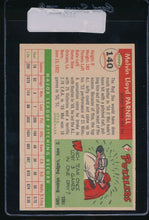 Load image into Gallery viewer, 1955 Topps  140 Mel Parnell  EX-MT 11123