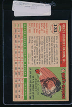 Load image into Gallery viewer, 1955 Topps  131 Grady Hatton  EX 11127