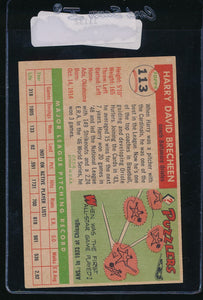 1955 Topps  113 Harry Brecheen CO VG 11132
