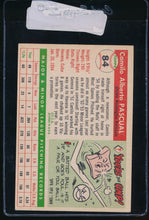 Load image into Gallery viewer, 1955 Topps  84 Camilo Pascual RC EX 11137