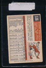 Load image into Gallery viewer, 1959 Topps  536 Danny Kravitz  G/VG 11174