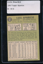 Load image into Gallery viewer, 1967 Topps  60 Luis Aparicio  EX 11254