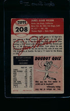 Load image into Gallery viewer, 1953 Topps  208 Jim Wilson  VG-EX 11493