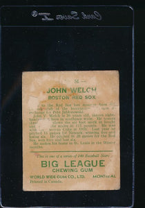 1933 World Wide Gum  56  John Welch  P 11608