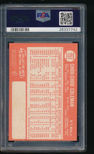 Load image into Gallery viewer, 1964 Topps  251  Choo Choo Coleman  PSA 7 NM 11685