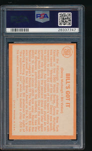 1964 Topps  268  Bill's Got It  PSA 7 NM 11690