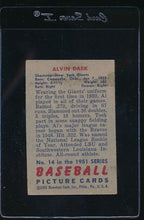 Load image into Gallery viewer, 1951 Bowman  14  Alvin Dark   VG 11810