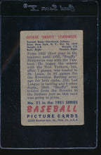 Load image into Gallery viewer, 1951 Bowman  21  George Stir   G 11813