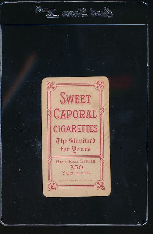 1909 t206 Sweet Caporal   Red Ames Hands above Head G (MK) 11858
