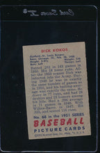Load image into Gallery viewer, 1951 Bowman  68 Dick Kokos  G/VG 11977