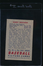 Load image into Gallery viewer, 1951 Bowman  86 Harry Brecheen  EX 11991